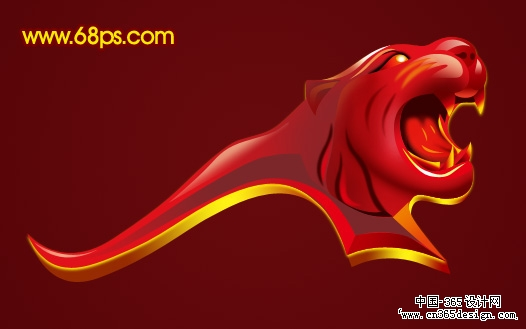 首页 资源教程 创意设计 photoshop photoshop制作一个霸气的虎头